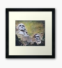 Mount Rushmore - My Impression Framed Print