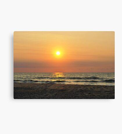 Sunrise in Salvo Canvas Print