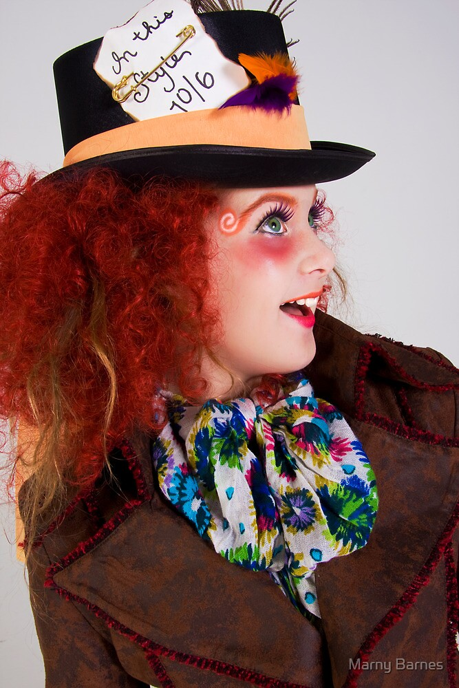 The Mad Hatter - Urban Alice by Marny Barnes