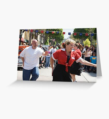 Nothin' Stoppin' Us Girl; Whittier, CA USA Greeting Card