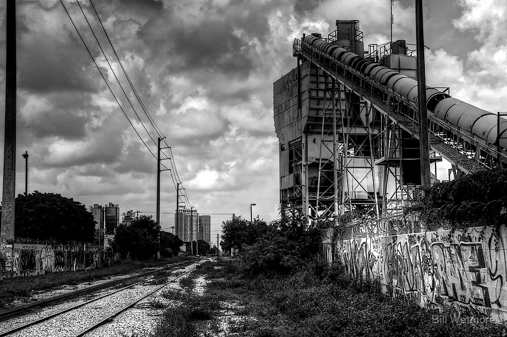 Cement Plant by Bill Wetmore