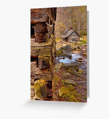 Noah Ogle cabin Greeting Card