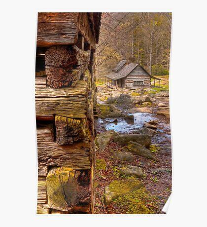 Noah Ogle cabin Poster