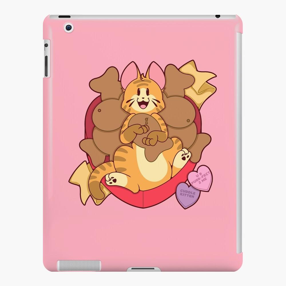 Valentines Box of Chocolates — Orange Striped Cat iPad Case & Skin