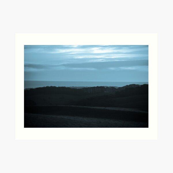 Fleurieu Blue - South Australia Art Print