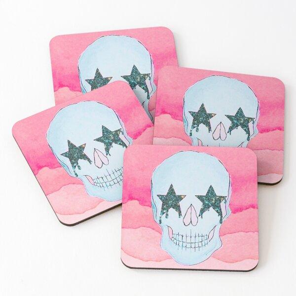 Star Skull Coasters (Set of 4)