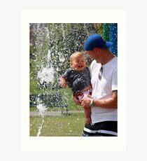 ~ Father & Son Art Print