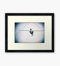 Holga Heights Framed Print