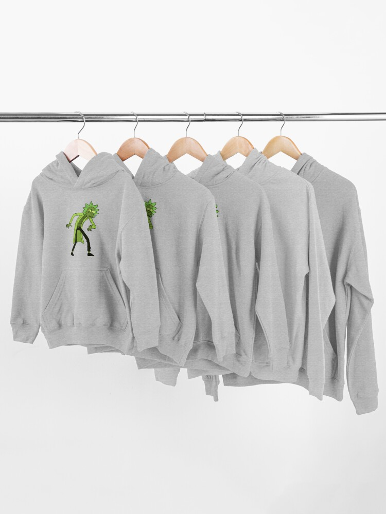 Alternate view of Toxic Rick | Rick and Morty character Kids Pullover Hoodie