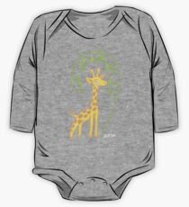 Giraffe with colour One Piece - Long Sleeve