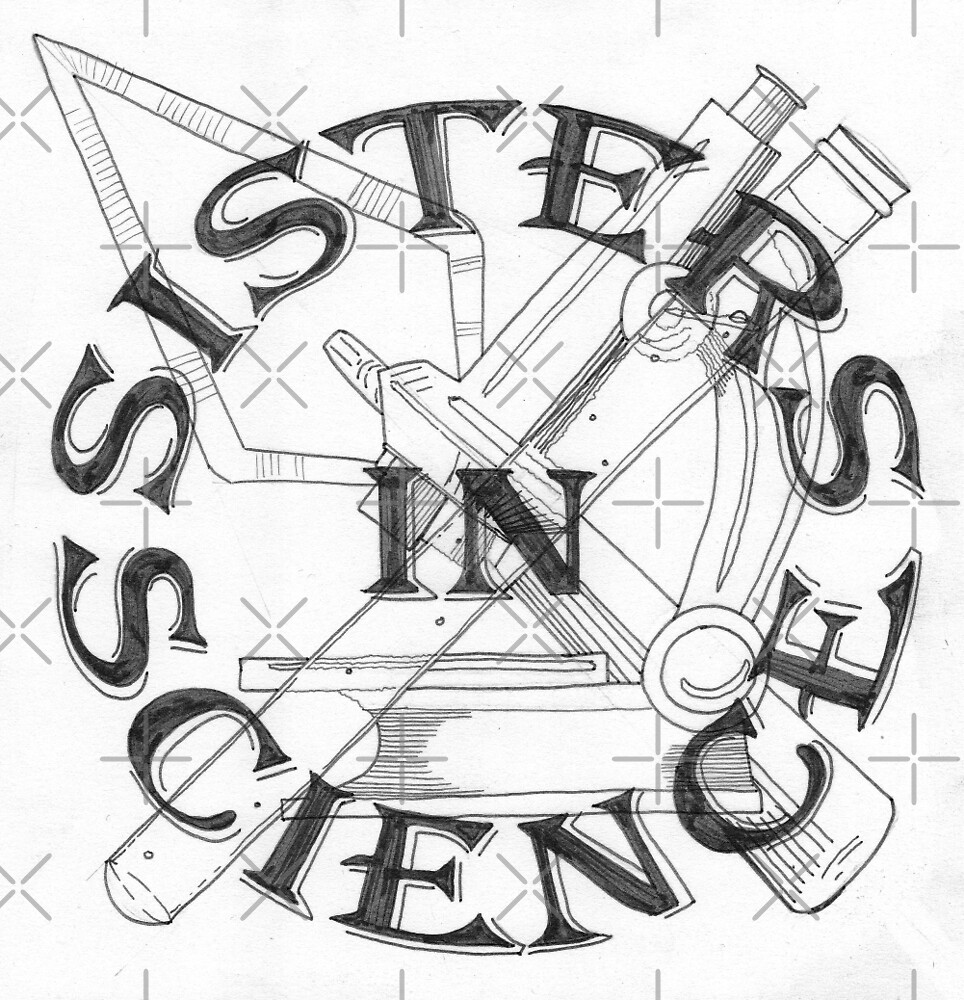 Sisters in Science Badge by soletlune