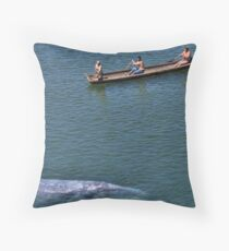 Whale Music (2) Throw Pillow