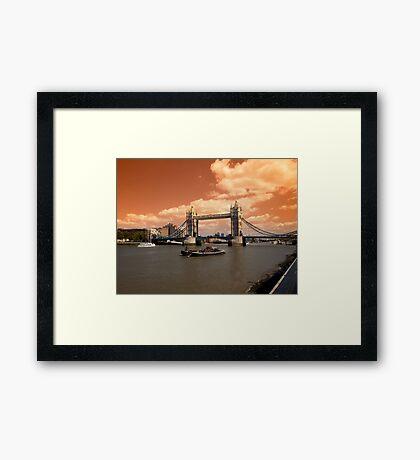 Londons Burning Framed Print