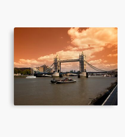 Londons Burning Canvas Print