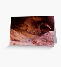 Petroglyphs and the Arch Greeting Card