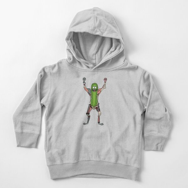 Pickle Rick | Rick and Morty Character Toddler Pullover Hoodie