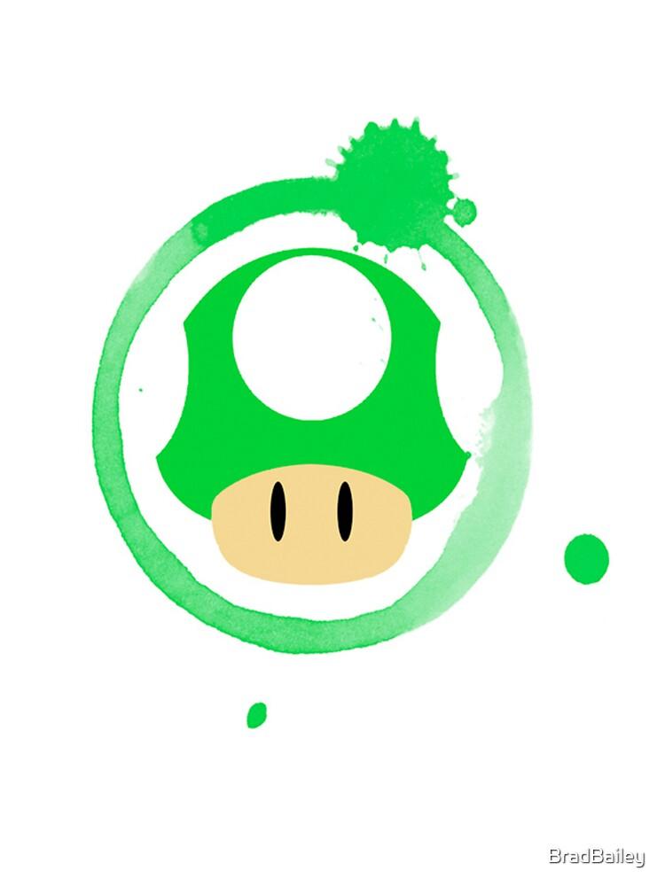 1-Up Mushroom by BradBailey