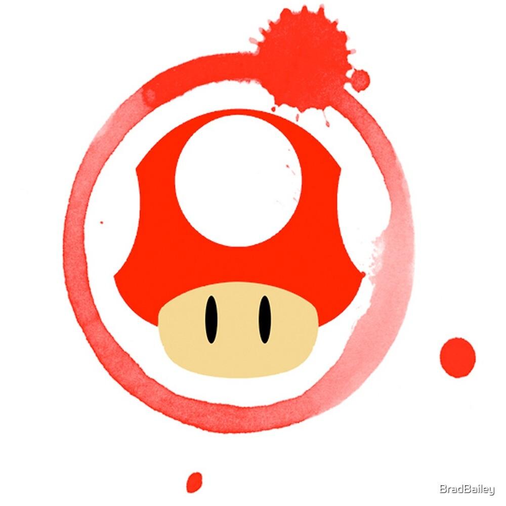 Super Mushroom by BradBailey