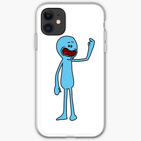 Mr Meeseeks | Rick and Morty character iPhone Soft Case