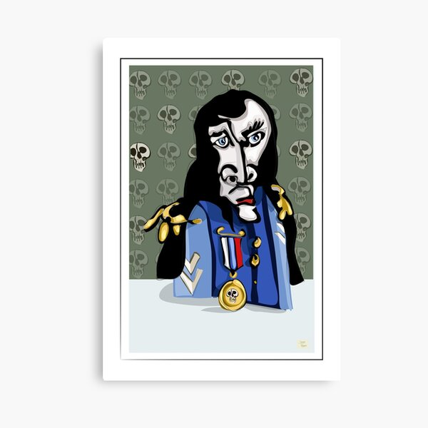 General's conscience Canvas Print