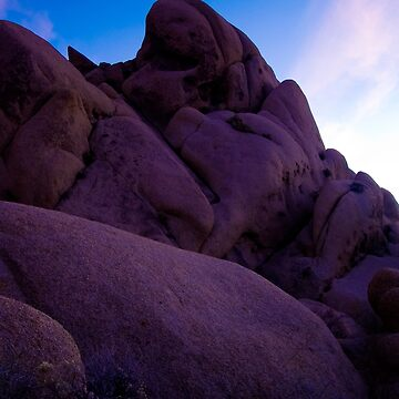 Monolith at Dusk, Joshua Tree by shubat