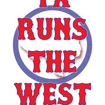 TX AL West Champs by emilyd44
