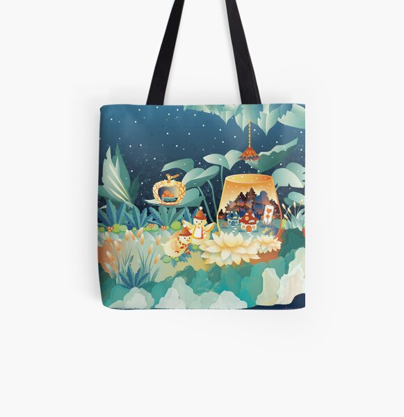 Forest Home All Over Print Tote Bag