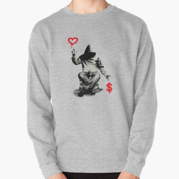 Love Over Money Pullover Sweatshirt