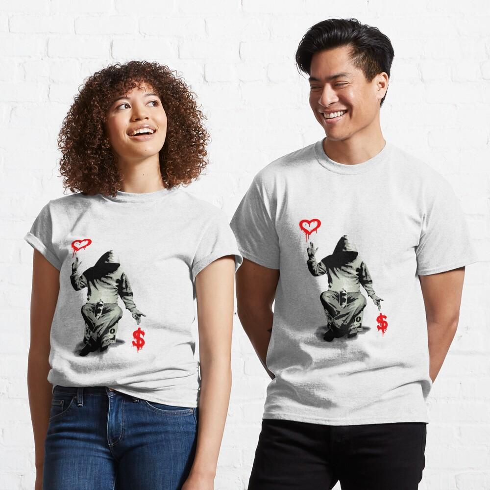 Love Over Money Classic T-Shirt