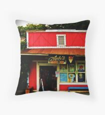 Aoki's Shave Ice Throw Pillow