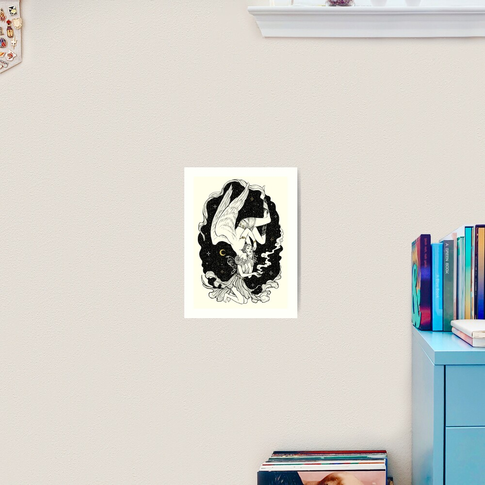 Psyche & Eros - The Last Task Art Print