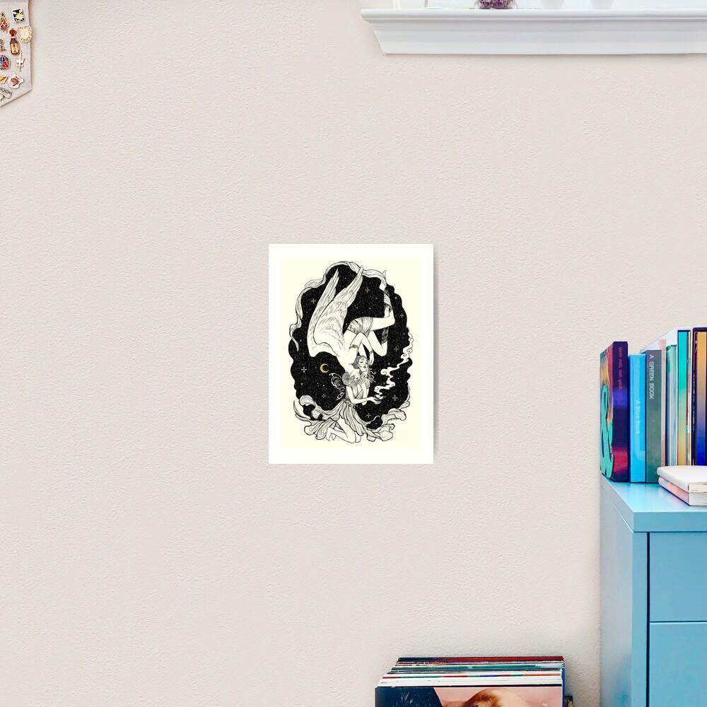 Psyche and Eros - The Last Task Art Print