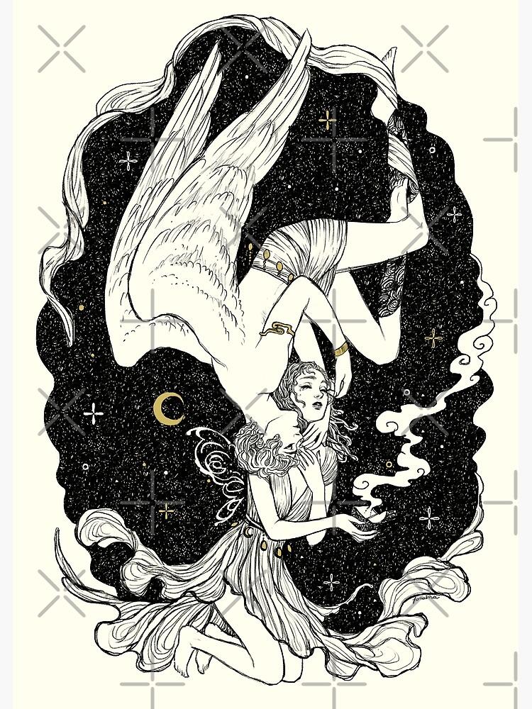 Psyche & Eros - The Last Task by JanainaArt