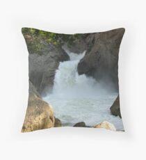 Roaring River Falls 2011 Throw Pillow