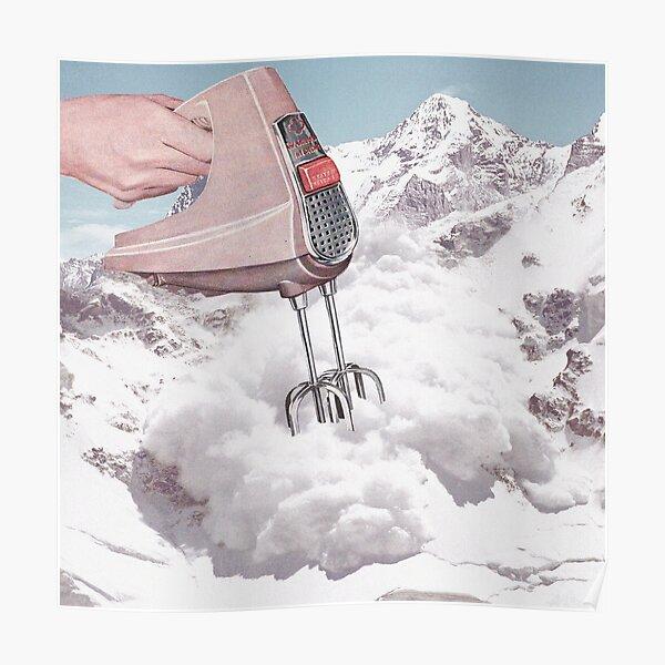 Doris Whisker II - Avalanche Whipped Cream Poster