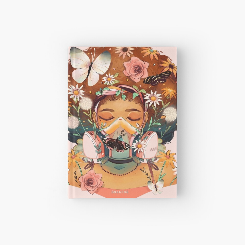 Breathe Deep Hardcover Journal