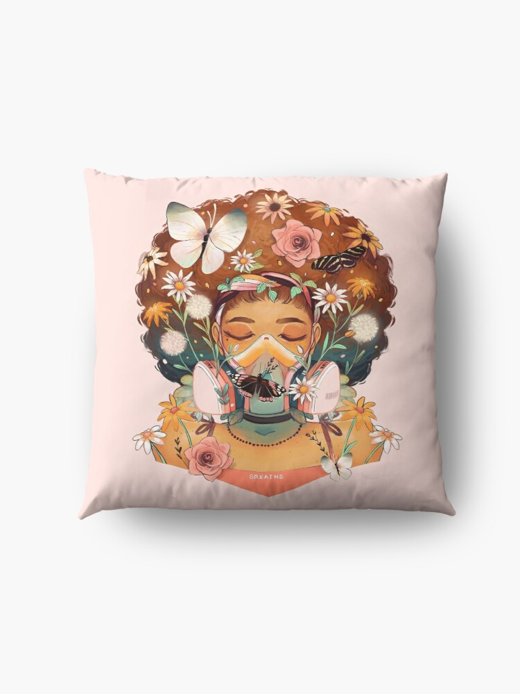 Alternate view of Breathe Deep Floor Pillow