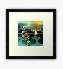 The Adventure Game Framed Print