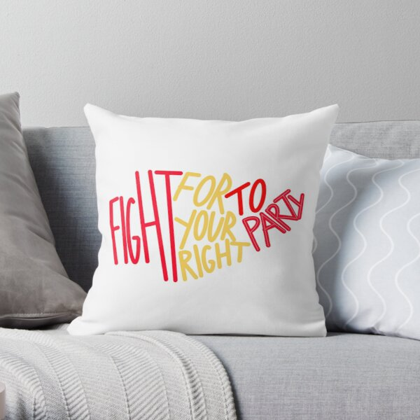 Chiefs Right to Party  Throw Pillow