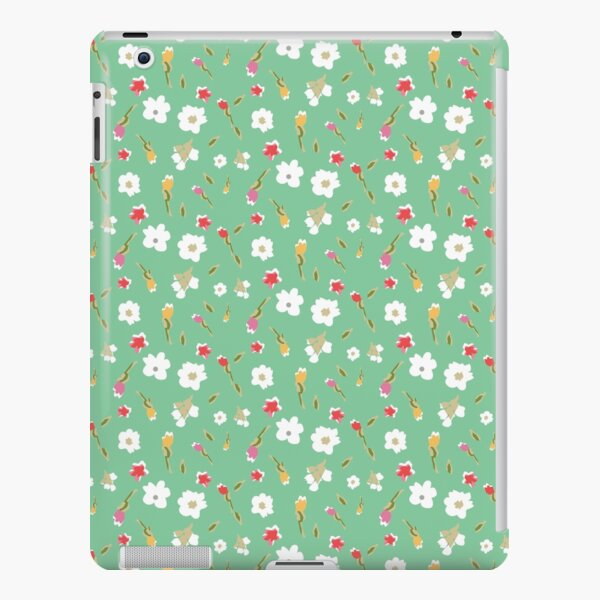 Spring Flowers in Mint iPad Snap Case