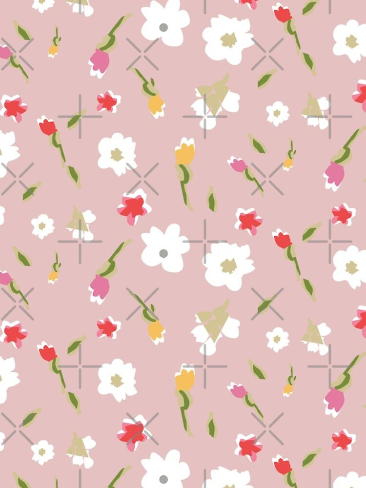 Spring Flowers in Rose by blackmagedark