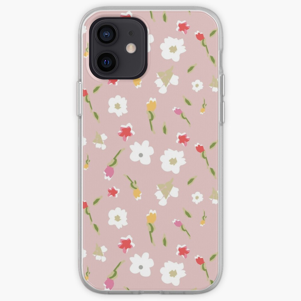 Spring Flowers in Rose iPhone Case & Cover