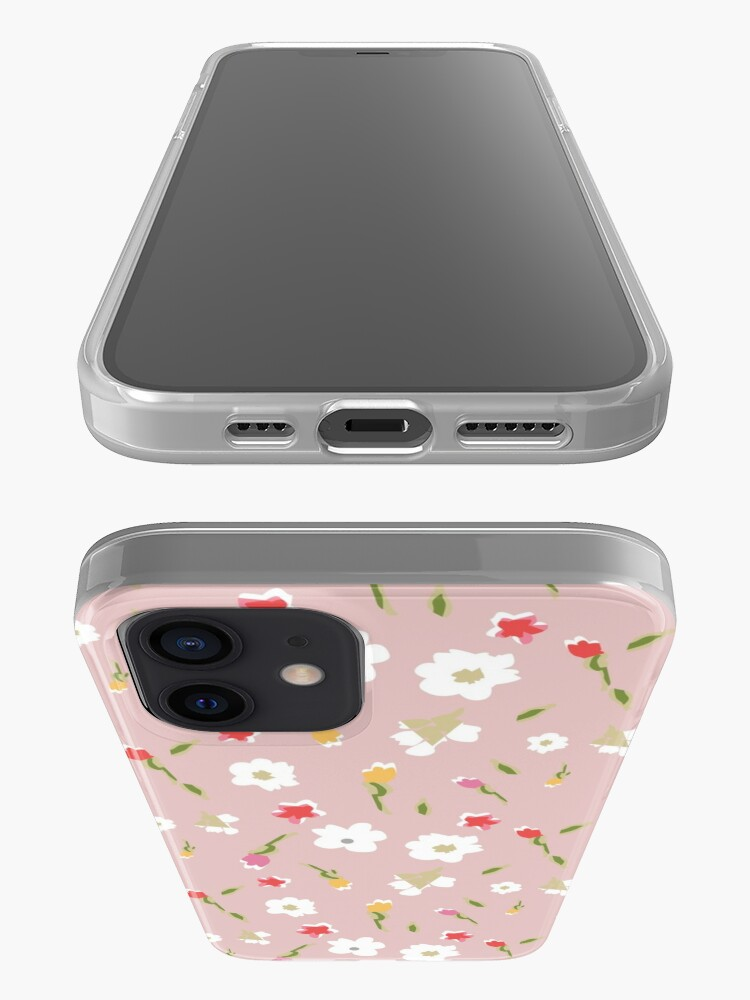 Alternate view of Spring Flowers in Rose iPhone Case & Cover