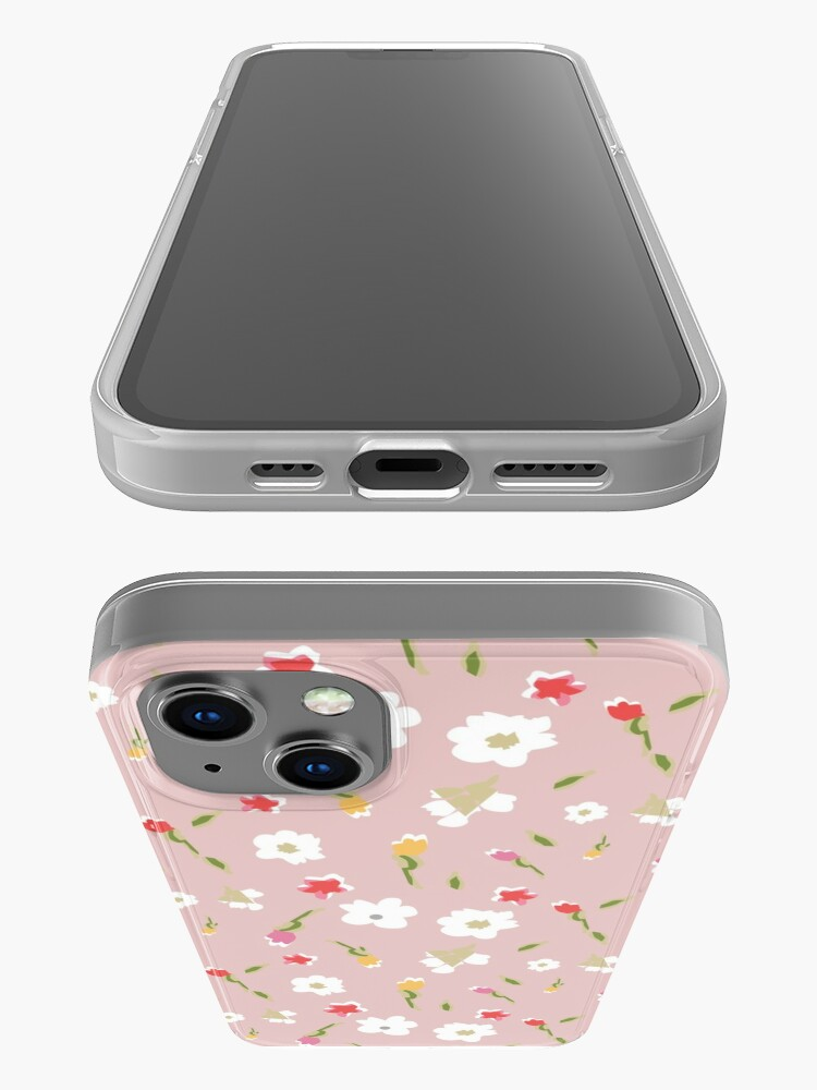 Alternate view of Spring Flowers in Rose iPhone Case