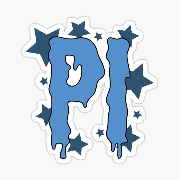 Pi Greek Letter Sticker