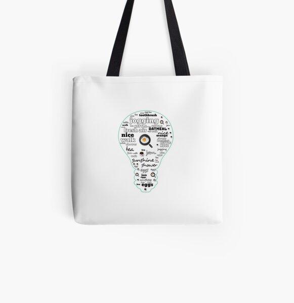 Ti is me All Over Print Tote Bag