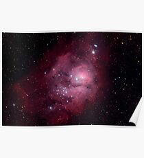 Messier 8, The Lagoon Nebula Poster