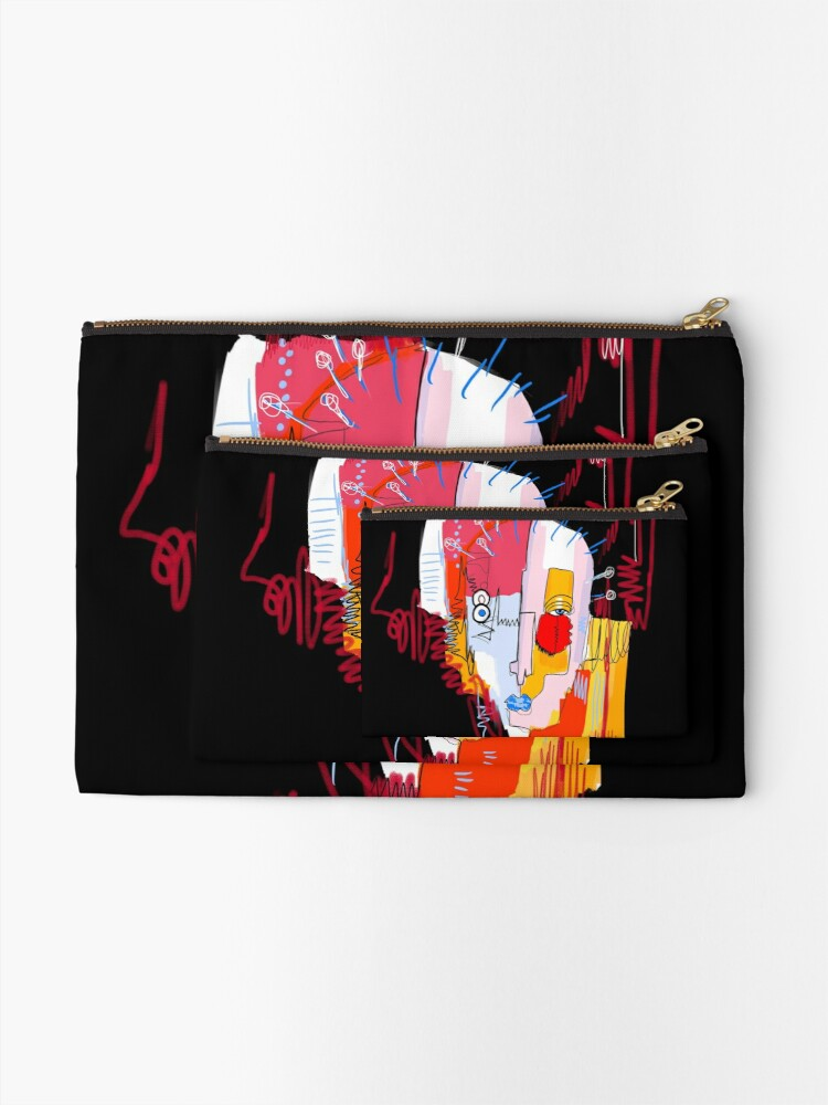 Alternate view of Fragments Zipper Pouch