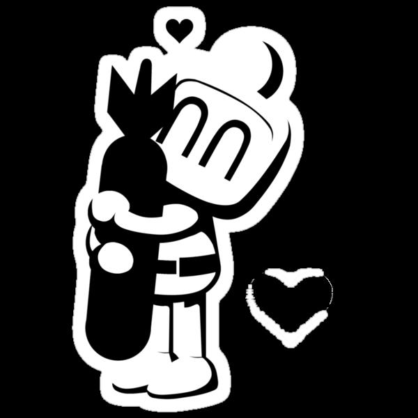 Bomberman Hugger by Photosmagoria