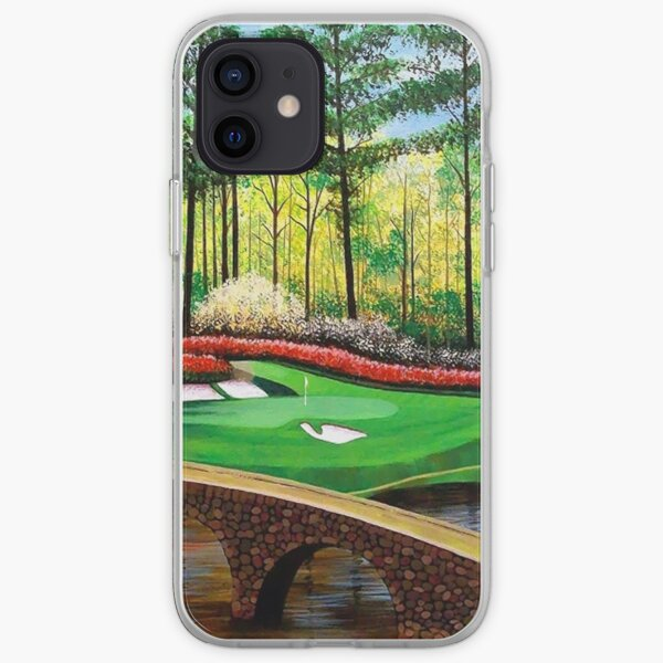 12th hole at Augusta National iPhone Soft Case
